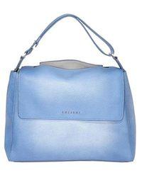 Orciani Vanish One Bag - Blauw