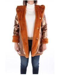 OOF WEAR Of-ja9790-of09 Fur Coat - Bruin