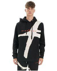 John Richmond Logo hoodie - Nero
