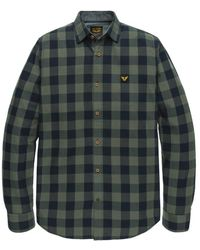PME LEGEND - Overhemd Long Sleeve Twill Check - Lyst