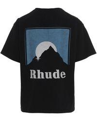 Rhude T-shirt - Zwart
