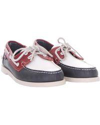 Sebago Flat shoes Rojo