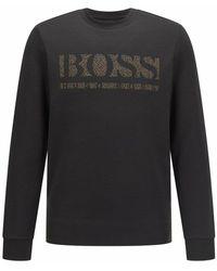 BOSS Black Sweatshirt - Noir