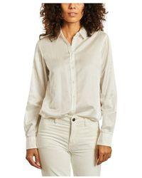 Hartford Carpo Cotton And Silk Shirt - Wit