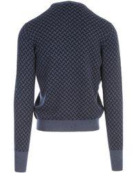 Drumohr Cashmere Crew Neck Sweater - Blauw