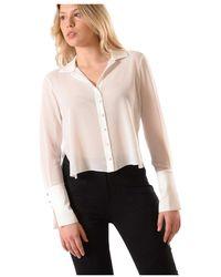 Elisabetta Franchi Shirt - Weiß