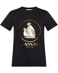 Lanvin Logo T-shirt - Nero