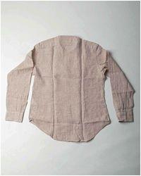Eleventy Korean collar shirt Beige - Neutro