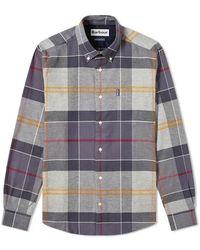 Barbour Tartan 3 Tailored Shirt - Grijs