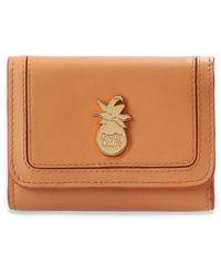 See By Chloé Lederen Portemonnee Met Logo - Oranje