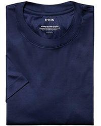 Eton T-shirt - Bleu