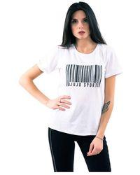 Liu Jo T-shirt H Strass - Wit