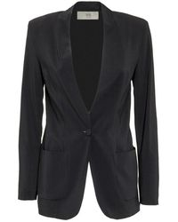 Jucca Jacket with Pockets - Nero