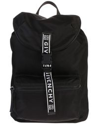 Givenchy Logo Backpack - Zwart