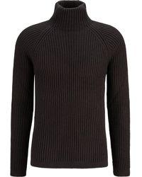 DRYKORN Roll kragen pullover - Noir