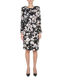 Boutique Moschino Midi Dress - Zwart