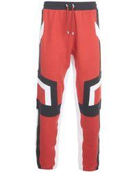 Balmain Sweatpants - Rood