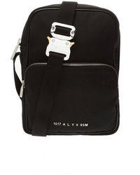 1017 ALYX 9SM Shoulder Bag With Logo - Zwart