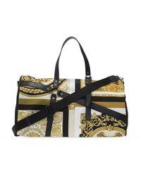 Versace Patterned holdall bag - Jaune