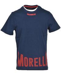 Frankie Morello Men's T-shirt - Blauw