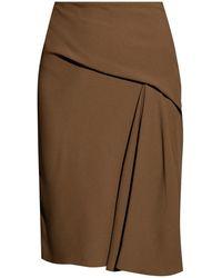 Versace Wrap Skirt - Bruin