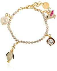 Marni Bracelet With Charms - Geel