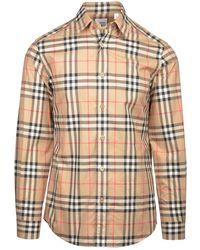 Burberry Caxton Shirt - Naturel