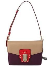 Dolce & Gabbana Leather Crossbody Tas - Rood