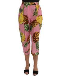 Dolce & Gabbana Capri Pants - Multicolore