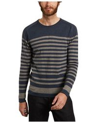 Knowledge Cotton Apparel Married sweater - Bleu