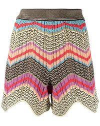 M Missoni Shorts - Rood