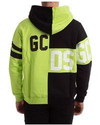 Gcds Hoodie sweat Mix Verde
