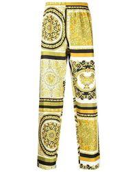 Versace Classic Baroque Pyjama Pants - Giallo