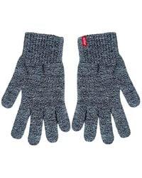 Levi's Gloves Levi's - Blau
