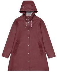 Stutterheim Mosebacke Raincoat - Rood