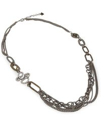 Guess Collier ufn50801 - Gris