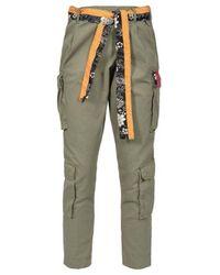 Pinko Trousers - Groen