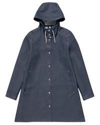 Stutterheim Mosebacke Raincoat - Blauw