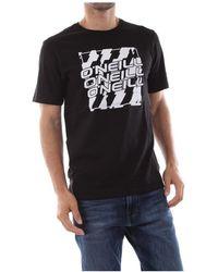 O'neill Sportswear - 9a2322 Filler T Shirt And Tank Men Black - Lyst