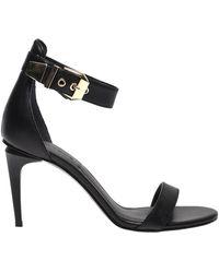 Kendall + Kylie Milla Leather Sandals - Zwart