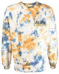 Aries Fsar60011 t-shirt - Blanc