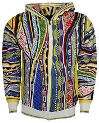 carlo colucci Sweatshirt Zip Through - Blauw