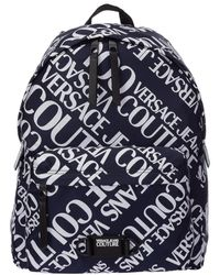 Versace Jeans Couture Men's Rucksack Backpack Travel - Blauw