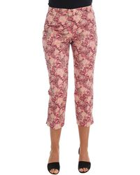 Dolce & Gabbana - Floral Brocade Capri Pants - Lyst
