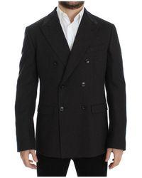 Dolce & Gabbana Slim Fit Blazer - Bruin