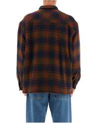 Rassvet (PACCBET) Sherpa lined padded shirt - Marron