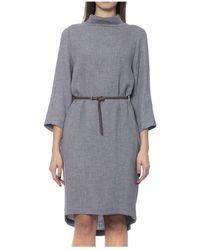 Peserico Dress - Gris