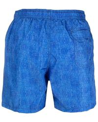 Drumohr - Swim Shorts Azul - Lyst