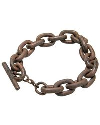 Parts Of 4 Toggle Chain Bracelet - Geel