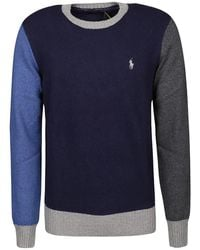 Polo Ralph Lauren Long Sleeve Sweater - Blauw
